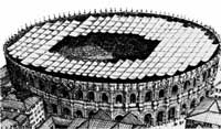 円形劇場推定図